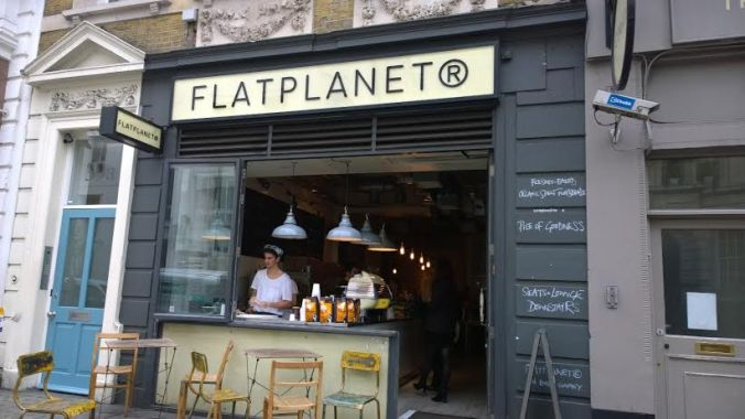 Flat Planet outside