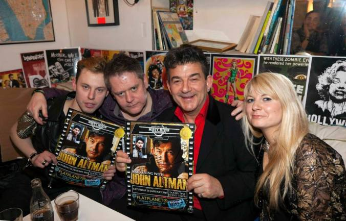Nasty Nick Cotton aka John Altman, Chris Collins, Stuart & Jen Morriss @ The First Misty Moon Film Society Of 2015