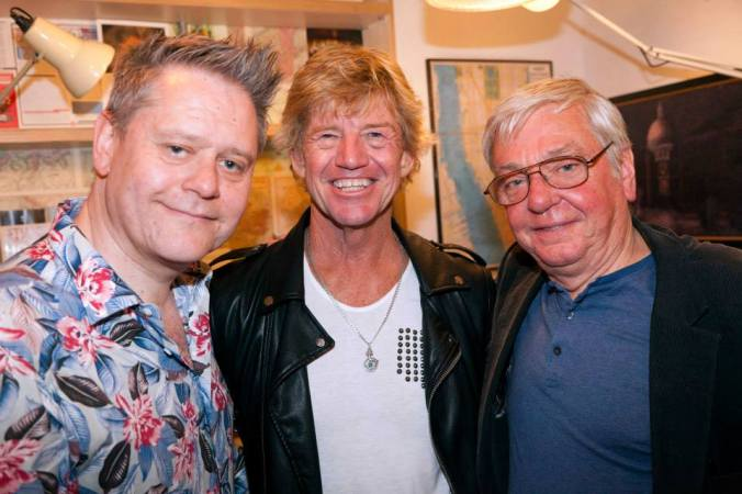 The Curator, Robin Askwith & David Barry - June 2015