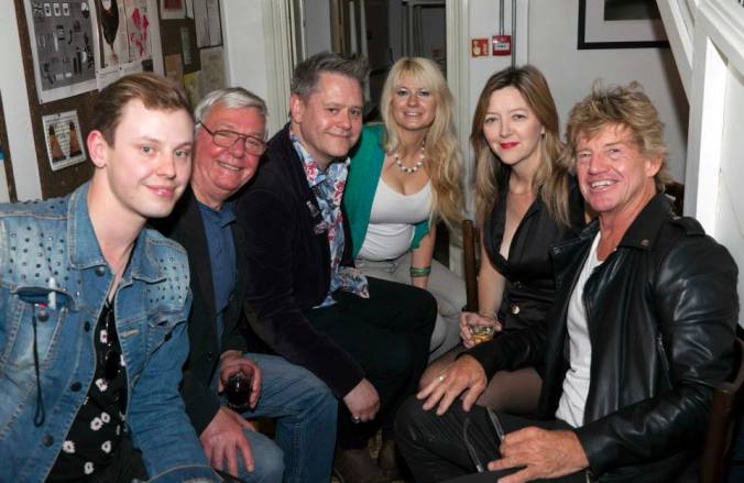 The Misty Moon Team with David Barry and Robin Askwith @ FlatPlanet June 2015