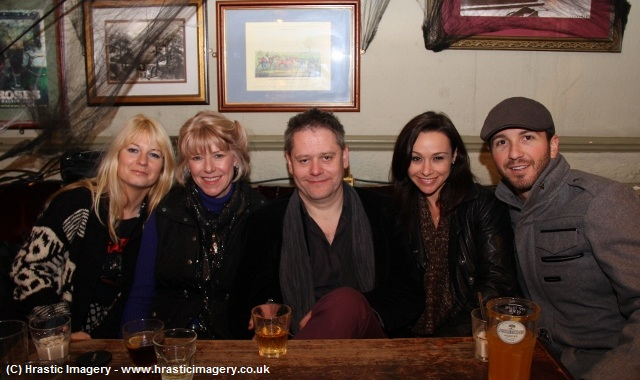 The 1st Misty Moon International Film Festival. Jen Morriss, Adrienne King, Stuart Morriss, Danielle Harris & David Gross