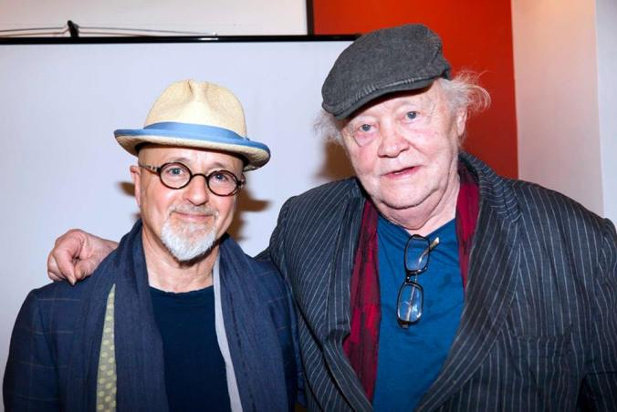 Dudley Sutton and David Charkham