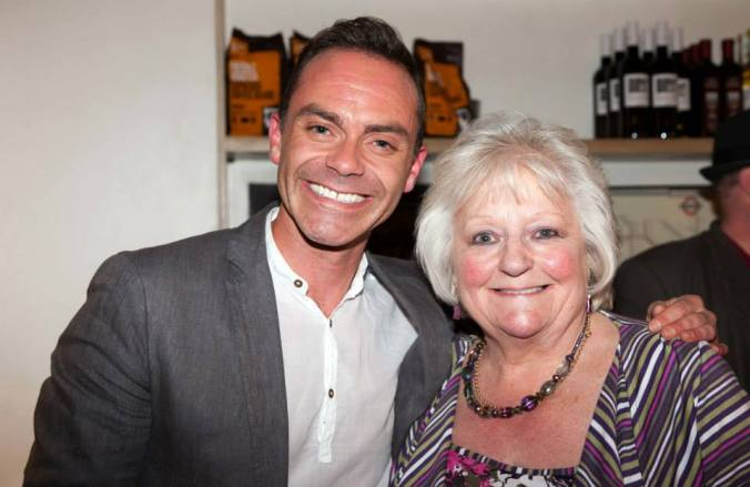 Daniel Brocklebank & a Corrie fan