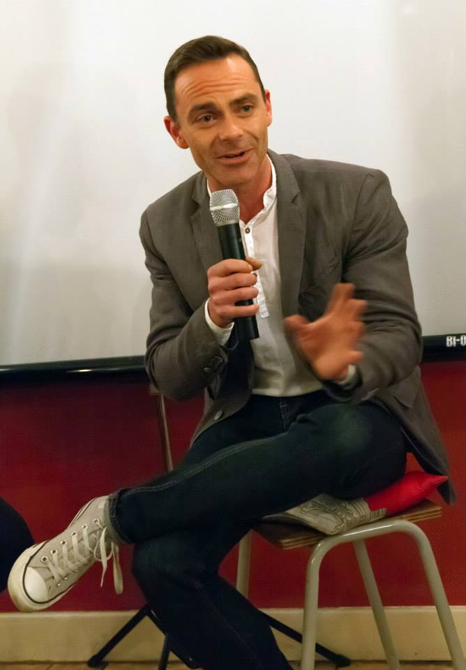Daniel Brocklebank talking about his career