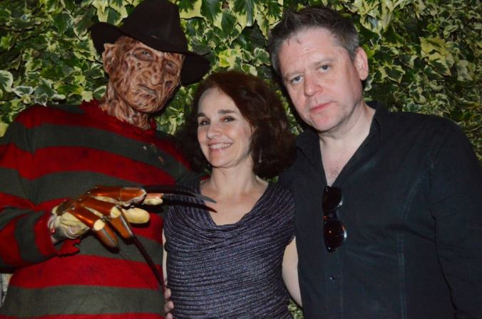 Freddy Krueger, Diane Franklin, and The Curator Stuart Morriss