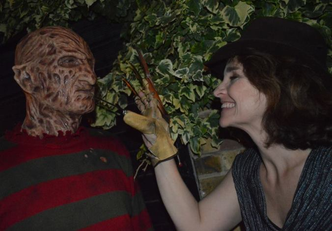 Beauty and The Beast. Freddy Krueger, Diane Franklin.