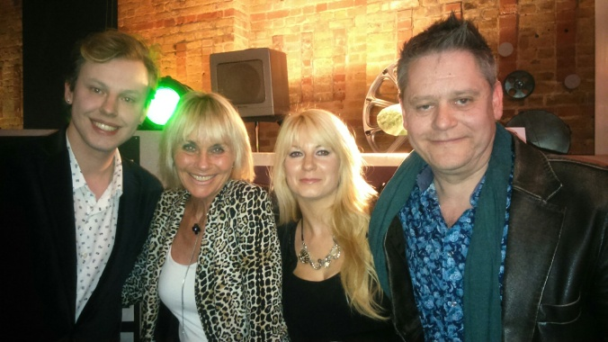Misty Moon's MC Chris Collins, The Gorgeous Linda Hayden, Jen & Stuart Morris @ The Cinema Museum 23/04/2015