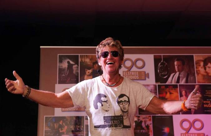 Robin Askwith @ Elstree Studios helping to celebrate 90 years of Elstree