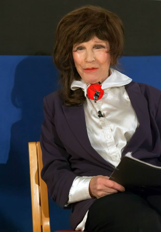 A portrait of a Legend. Fenella Fielding @ The Cinema Museum - June 2015