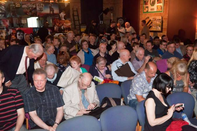 A full house for Fenella Fielding at The Cinema Museum June 2015