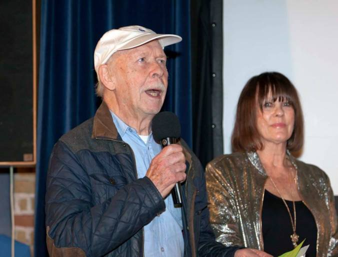 Brian Murphy and Judy at The Misty Moon International Film Festival