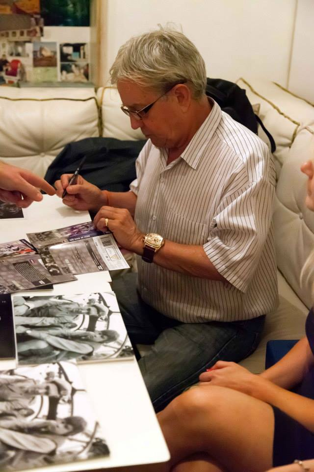 Frazer Hines signing
