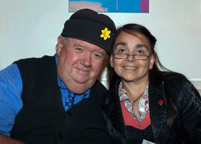 Ian McNeice and Zoe Gaffen