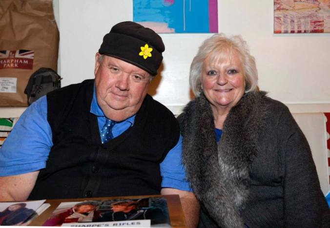 Ian McNeice and a Misty Mooner