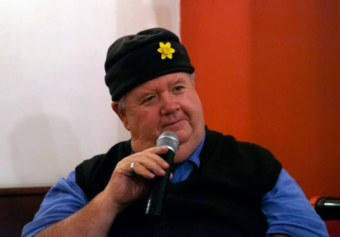 Ian McNeice during the Q&A