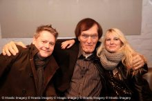 Richard Keil aka JAWS with Stuart & Jen Morriss