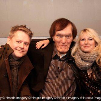 Richard Keil aka JAWS with Stuart & Jen Morriss