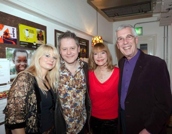 Jeffrey Holland, Judy Buxton, Stuart & Jen Morriss