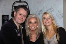 Kate O'Mara With Stuart & Jen Morriss