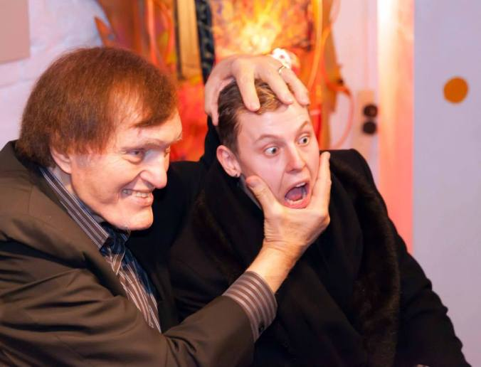 Richard Kiel aka JAWS gets to grips on MC Chris Collins