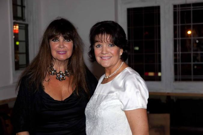 Sally Geeson and Caroline Munro