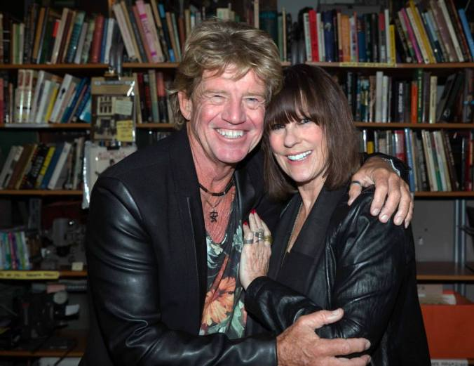 Robin Askwith reunited with Confessions Babe Judy Matheson @ The Cinema Museum