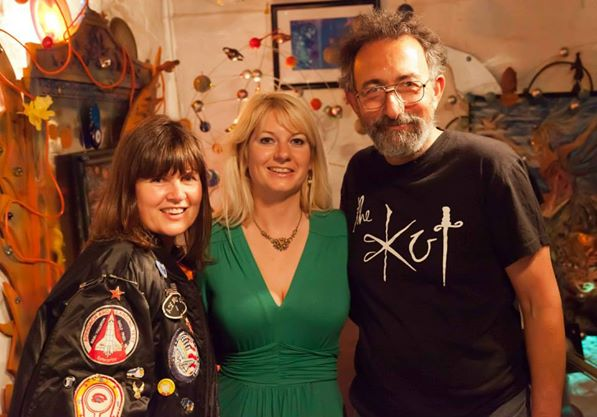Sophie Aldred aka ACE from Doctor Who, Jen Morriss & John Gaffen - June2014