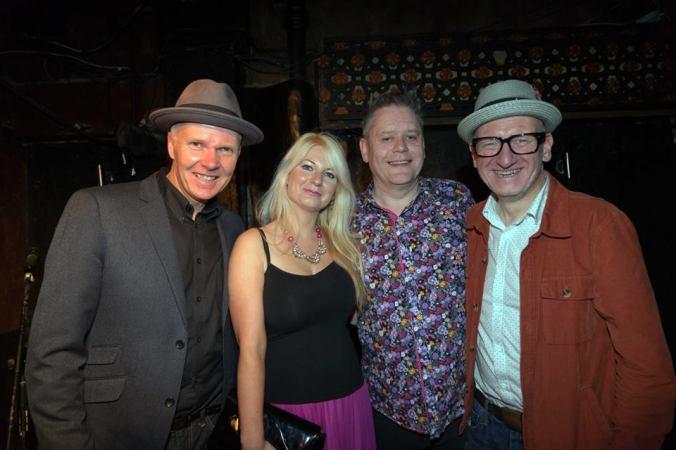 Trev, Stu, Jen and Simon