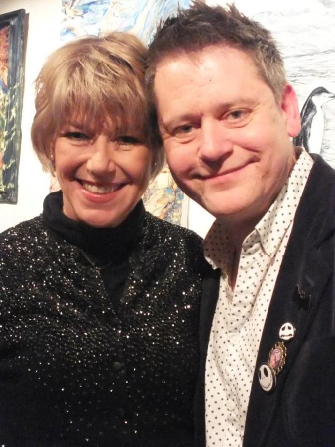 Adrienne King and Stuart Morriss