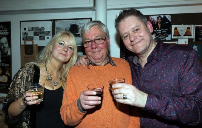 Jen Morriss, David Barry & Stuart Morriss