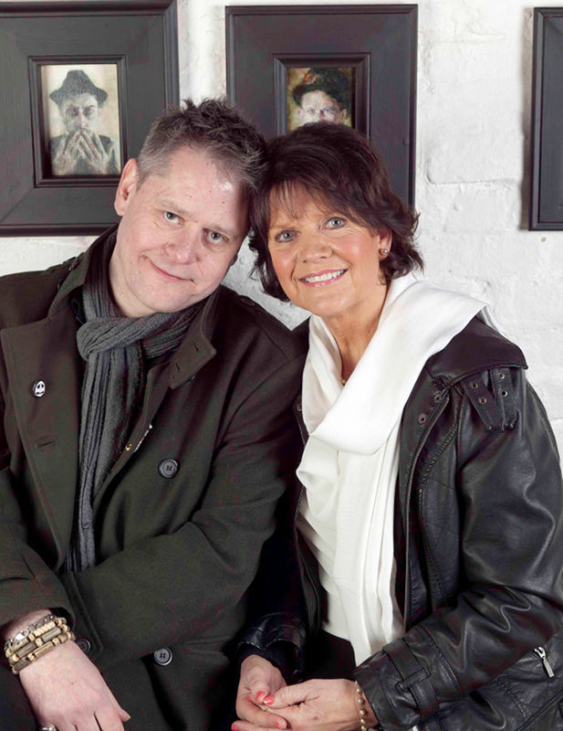 Sally Geeson and Stuart Morriss