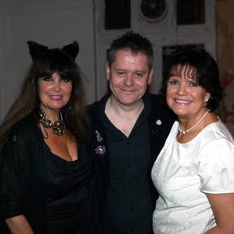 The Gorgeous Caroline Munro & Sally Geeson With The Curator
