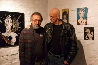 Michael Berryman and John Gaffen