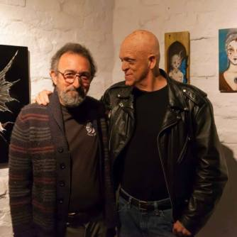 Michael Berryman and John Gaffen