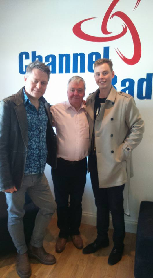 Stuart Morriss, David Barry & Chris Collins @ Channel Radio on Saturday the 16th May 2015