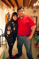 Misty Moon Roadie Rob Smith and Doctor Who Girl Sophie Aldred aka ACE