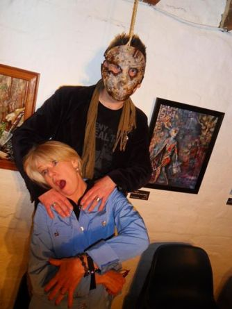 The Curator comes over all Jason Voorhees with Adrienne King from the original Friday the 13th