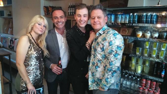 Daniel Brocklebank and The Misty Moon Family, Stuart, Jen & Chris