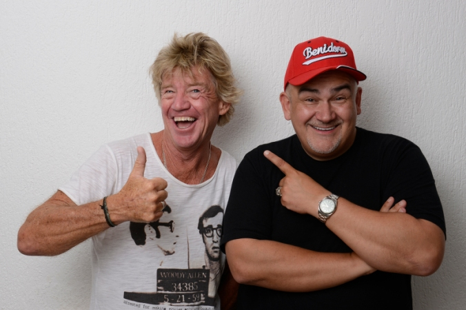 Robin Askwith & Derren Litten Robin Askwith & Derren Litten. Tickets For The Second Coming - http://www.camdenfringe.com/detailact.php?acts_id=312