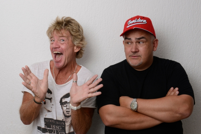 Robin Askwith & Derren Litten. Tickets For The Second Coming - http://www.camdenfringe.com/detailact.php?acts_id=312