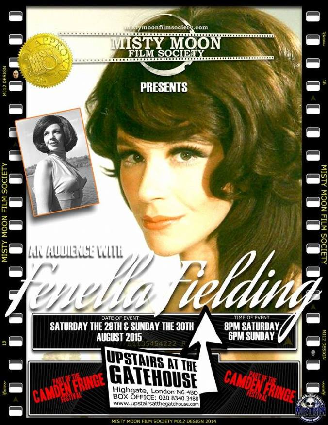 An Audience With Fenella Fielding. With Special Guest MC Simon Sheridan. For Tickets Click The Link: http://www.camdenfringe.com/detailact.php?acts_id=313
