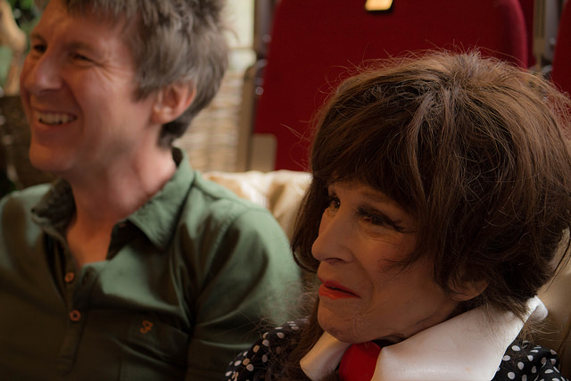 Special guest MC Simon McKay and Fenella Fielding