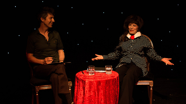 During the Q&A with Simon McKay and Fenella Fielding