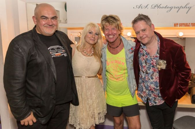 Derren Litten, Jen Morriss, Robin Askwith & The Curator