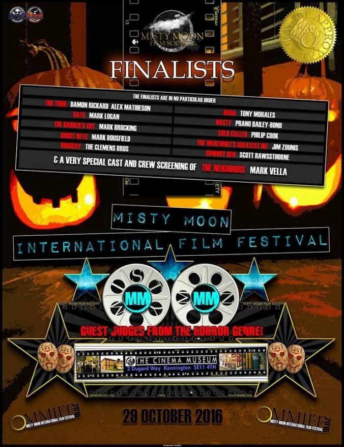 The Misty Moon International Film Festival - Finalists