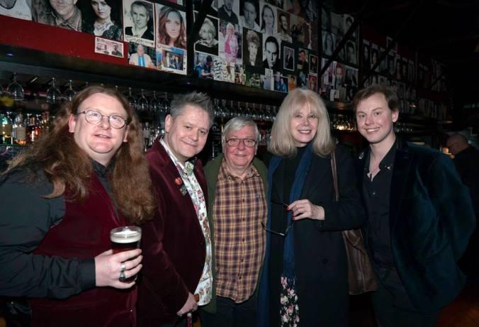 Jerome Conreen, The Curator, David Barry, Anita Graham and Chris Collins